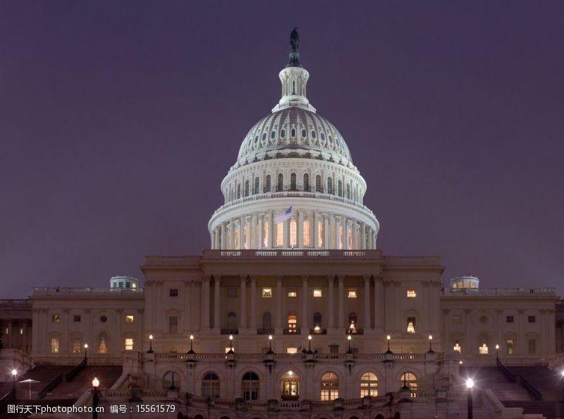states美国国会大厦图片
