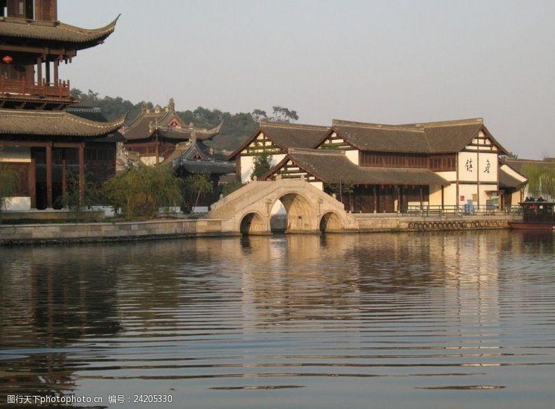 绍兴风景小桥流水