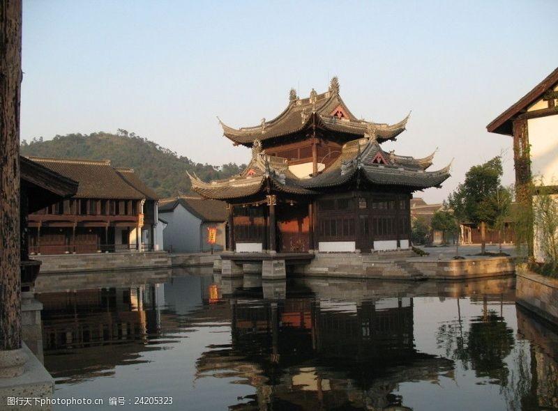 绍兴风景古戏台