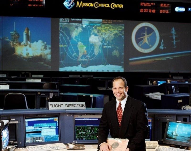 航天飞机飞行主管托尼·瑟斯卡斯图片