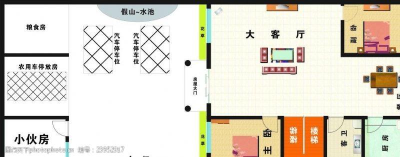 个人房屋平面图室内平面图